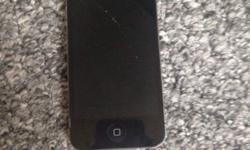 iPhone 4 for sale has a cracked screen but doesn't