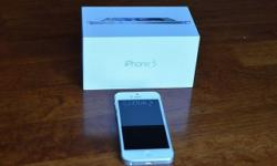 iPhone 5 white 16gb for sale great condition, due to