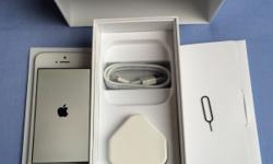 iPhone 5 in white with 16gb memory on EE. The phones