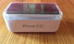 iPhone 5c White 8GB good conditions in original box and