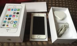 iPhone 5s silver /white on O2 Nice condition pick up