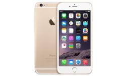 iPhone 6 plus on O2 gold in colour mint condition few