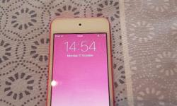 Ipod 6th Generation 16gb pink . In good condition.