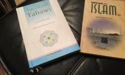 Brand new 2 Islamic book Is £10 in shop for these 2