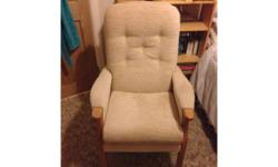 "JC & MP Smith ""Jilly"" Fireside Chair - only 1 year old"