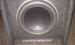 JL Audio 10w7 in ported box,has been used for 6