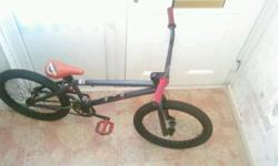 Mongoose, full size bmx, tidy, no brakes, 20 inch alloy