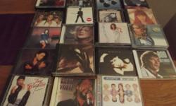 Job Lot of 75 CD's, many of which are double albums at