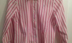 Lovely quality 100% cotton shirt. No marks, like new,