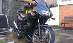 For sale Kawasaki GPZ 500S. The bike is in good