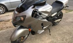 Here is my 2000 Zx12r . Has approx 34k . Had a full