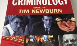 For sale is Key Readings In Criminology by Tim