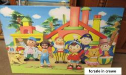 kids bedroom Noddy In Toy Land Bedroom Art Canvas
