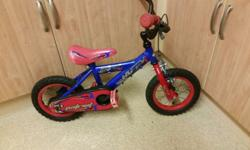 Kids small bike very good condition 12 inch wheels pick