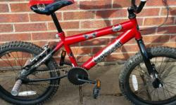 Bmx bike for kids Like new with stunt nuts Collection