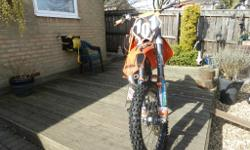 Ktm 125 sx 2006 motocross owned since 2010.Had full