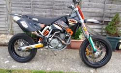 2003 ktm 525 exc.this bike has been rebuilt by hm