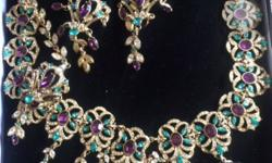 Kyles designer jewllery worn only once on a bridel