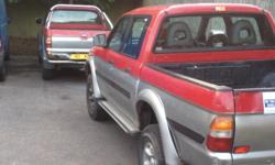 I have two l200 pick up a for sale plz both mot and on