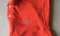 Xtra large orange polo brand new without the tags these