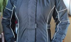 Great condition ladies' motorcycle jacket - hardly