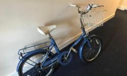 Very rare and collectible Raleigh shopper, complete and