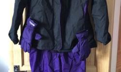 All in excellent condition, worn once skiing but I