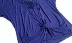 Purple/blue top from M&Co Think it's a size 18 but tag