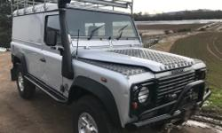 Land Rover 110 td5 hard top, in very clean condition.