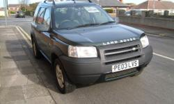 LANDROVER FREELANDER TD4 2003, 2.0 TURBO DIESEL BMW