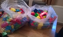 Large selection of mega blocks. Can be sold as