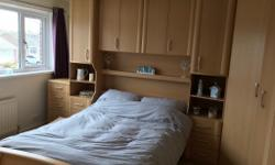 Very large fitted wardrobes and bedroom set, excellent