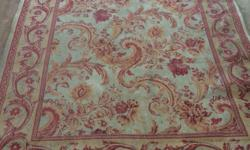 Gorgeous large Laura Ashley rug. Will need to be