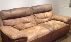 Large double reclining sofa , both sides recline will