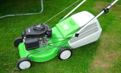 The compact MB 248 T petrol mower is ideal for small to