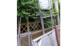 Lean to greenhouse, all glass should be present. We