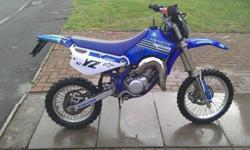Yz 80 bord to a 105cc bike lifts in every gear spent