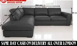- WESTPOINT ITALIAN LEATHER SOFA - This Magnificent