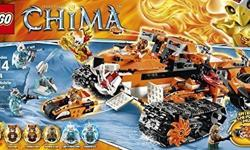 Lego Chima Tigers Mobile Command playset. The set is