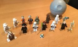lego Star Wars minifigure bundle.collection from Copnor