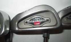 EXCELLENT CONDITION SET OF LEFT HANDED BIG BERTHA