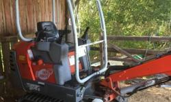 2001 libra compact mini digger done only 1000 hours