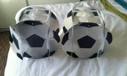 Football style light shades £2 each or both for £3