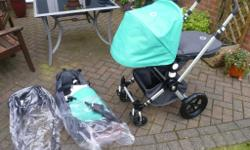 Good condition grey and green limited adition bugaboo