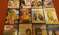 12 Comedy DVDs...the lot for £3. Collect Kintore. Text