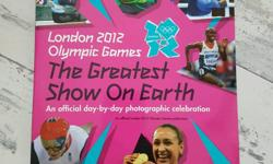 An official Olympic Games publication. New unused book,