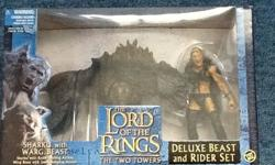 Lord of the rings sharku and warg beast model. This is