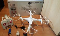 Hi for sale is my drone quadcopter it is a big drone