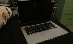 Selling my MacBook w/ 500gb hard drive for PARTS or
