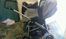 3in1 mamas and papas pram, comes with carrycot, sittin